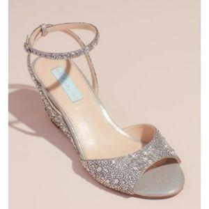 Betsey Johnson (Blue) Bridal Shoes